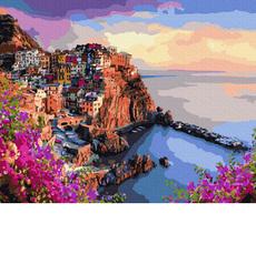 GX35801 Картина по номерам Яркие краски Сицилии