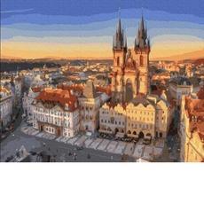 GX36125 Картина по Номерам Прага RainbowArt