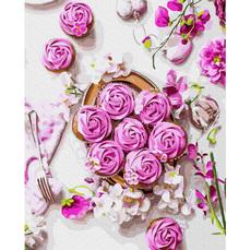 GX37316 Картины по номерам Цветочный завтрак RainbowArt