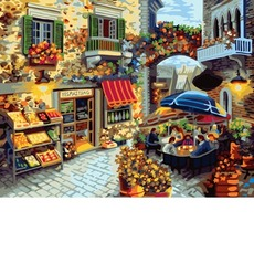 GX7091 Картина раскраска Домашний ресторанчик Brushme