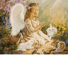 Ангелочек в лесу KHО2306