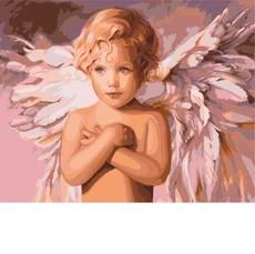 Картина по номерам Голубоглазый ангел KHО2315