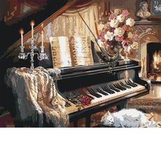 Музыкальный вечер у камина KH2506