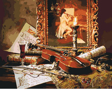 Волшебная музыка скрипки KH2509