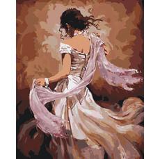 Танцовщица в белом платье KH2682