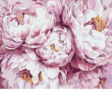 Нежно-розовые пионы KH3013