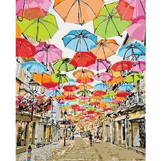 Улица парящих зонтиков KH3508