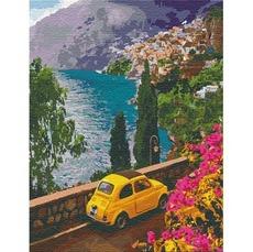 KHO12739 Картина по номерам Поездка к морю