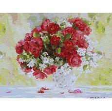 KHO13118 Картина по номерам Цветущее удовольствие