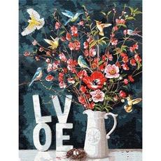 KHO13119 Рисование по номерам С любовью. Ира Волкова