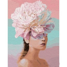 KHO14765 Раскраска по цифрам Цветочные мысли. Ира Волкова