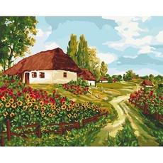 KHO2277 Картина по номерам Украинскими тропами
