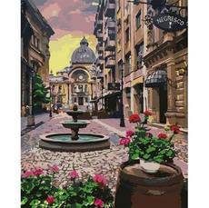 KHO3573 Картина по номерам Бухарест Идейка