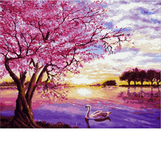Закат в розовых тонахMR-Q2073