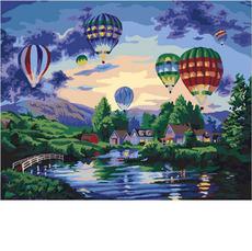 Воздушные шары в сумеркахMR-Q2099