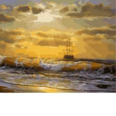 Море на рассвете MR-Q2136