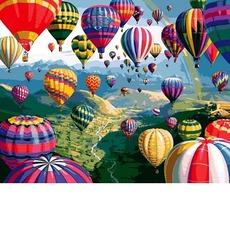 MR-Q2233 Картина по номерам Разноцветные шары Mariposa