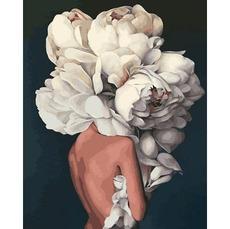 MR-Q2236 Картина по номерам Женственные пионы. Эми Джадд Mariposa