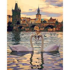 MR-Q2248 Картина по номерам Романтическая Прага Mariposa