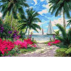 MR-Q2253 Картина по номерам Морской бриз Mariposa