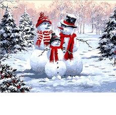 Семейство снеговиковхуд. Ричард Макнейл MR-Q294