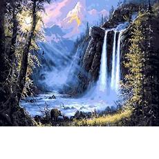 Горный водопадMR-Q493