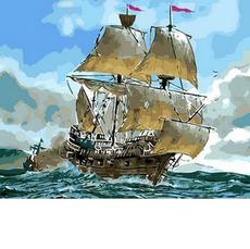 Сражение кораблей MR-Q553
