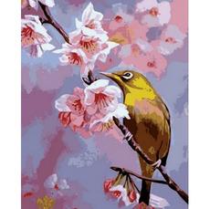 Колибри на яблоневой ветке Худ. Вавейкина СветланаMR-Q703