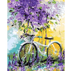 Велосипед в зарослях лавандыХуд. Дарчук ОльгаMR-Q765