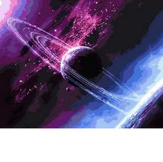 Картина по номерам Сквозь вселенную MR-Q792