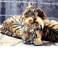 Задумчивые тигрята MR-Q807