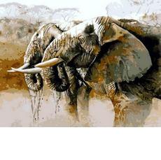 Слоны на водопоеХуд. Карен Лоренс-РоуMR-Q814