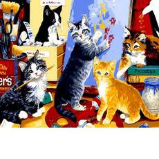 Котята художники MR-Q885