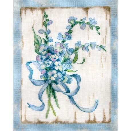 BLUE I LETISTITCH Набор для вышивания LETI 974