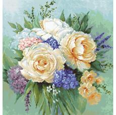 Набор для вышивки гобеленом Luca-S Букет цветов G600