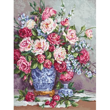 Ее Величество - Розы Luca-S Набор для вышивки крестом B605