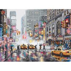 Нью-Йорк Набор для вышивания крестом LETISTITCH L 8012