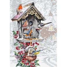 Птичий домик Набор для вышивки Luca-S B2399