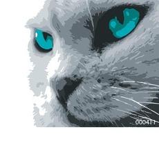 Картина по номерам Кошачий взгляд Bambino 0004Т1