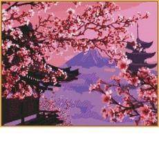 Японский пейзаж ST595