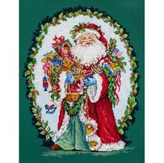 Веселый Святой Ник LETISTITCH Набор для вышивания крестом L 8005