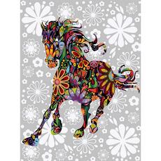Цветочная лошадь VK158