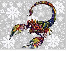 Цветочный скорпионVK165