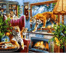 VP1244 Живопись по номерам Тигры Babylon