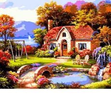 VP1299 Картина по номерам Сказочный домик Babylon