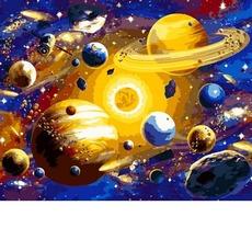 VP1312 Картина по номерам Солнечная система Babylon