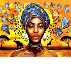 VP1339 Картина по номерам Восхитительная женщина Babylon