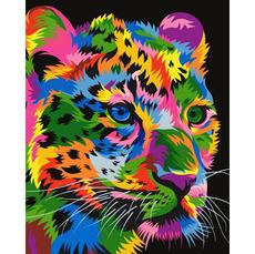 VP1345 Рисование по номерам Радужный гепард Babylon
