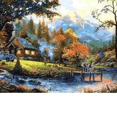 VP1353 Раскраска для взрослых Загородная жизнь Babylon