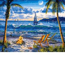 VP1356 Картины по номерам Райский пляж Babylon